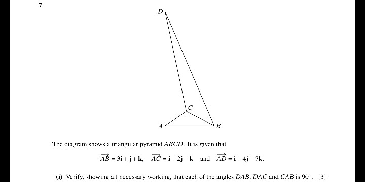 solved the diagram shows a triangular pyramid akcd it is