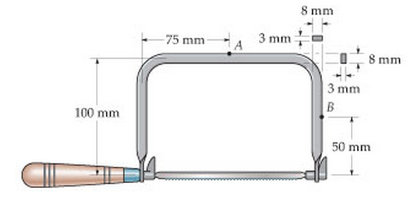 solved the coping saw has an adjustable blade that is tig rh chegg com coping saw parts