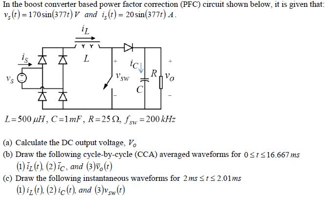 power factor correction using boost converter technique engineering essay Improvements in single-phase boost power factor correction rectifiers electrical engineering) digital control techniques for 21 dc-dc boost converter.