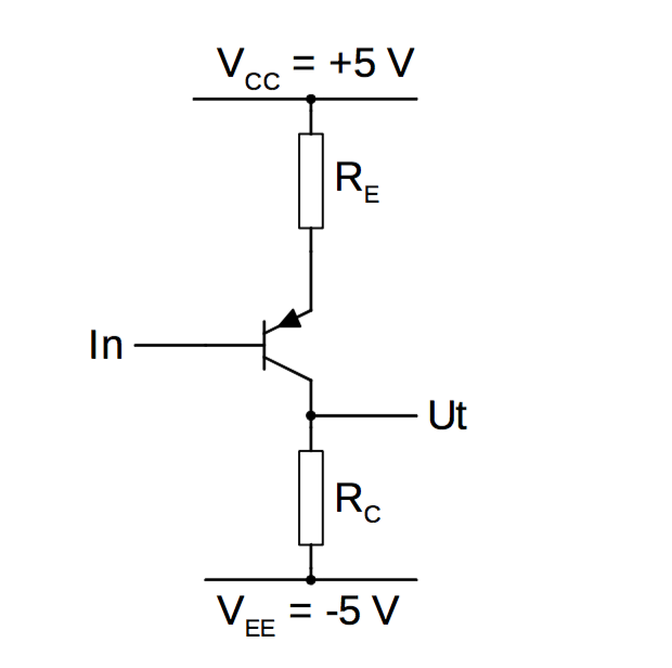 Solved: In The Above Connection, A PNP Transistor Is Used ...