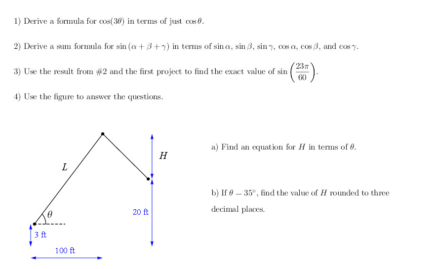 Solved: There Is This Trigonometry Online Project I Am Rea