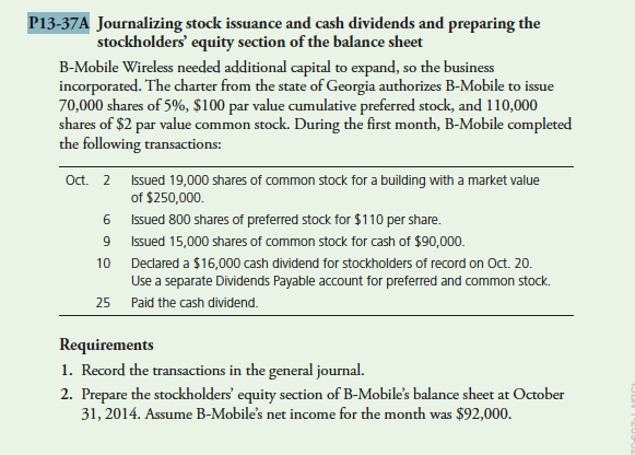 cash dividends paid to stockholders