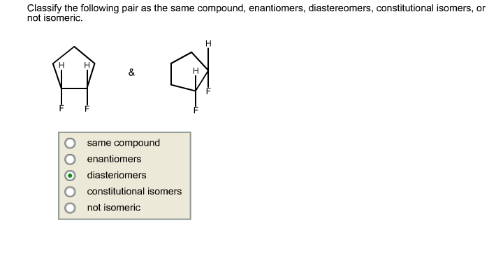 how to tell if two molecules are enantiomers