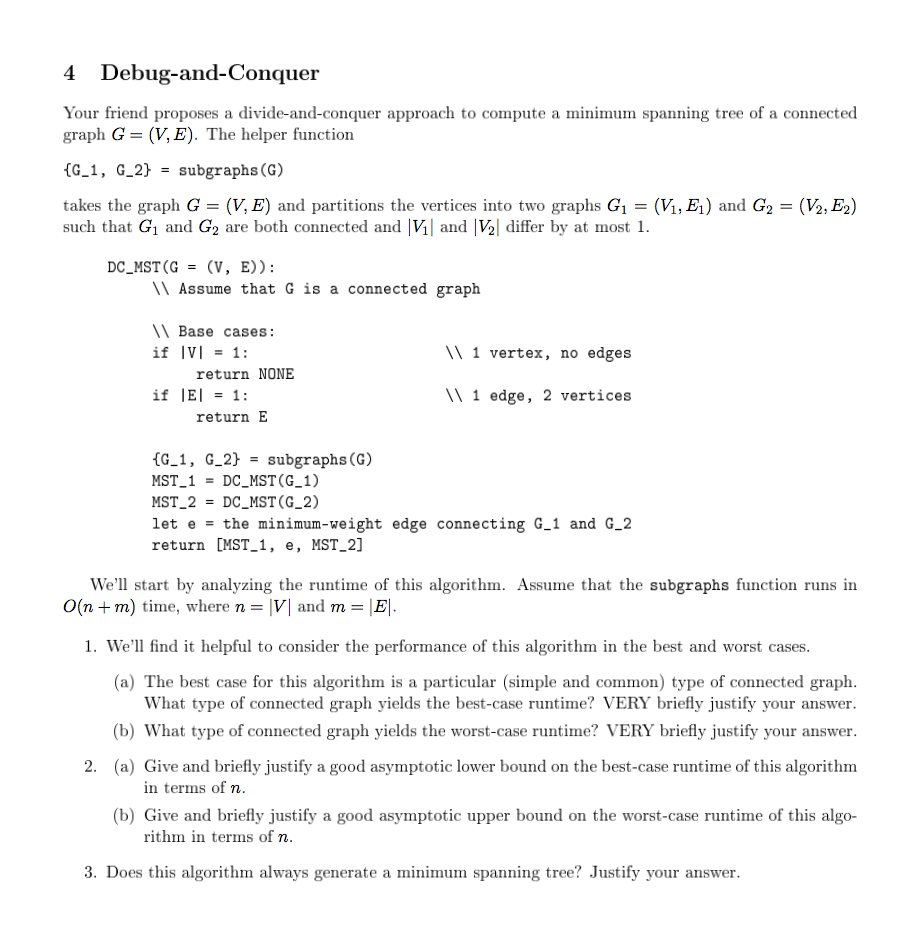 Best asymptotic runtime complexity