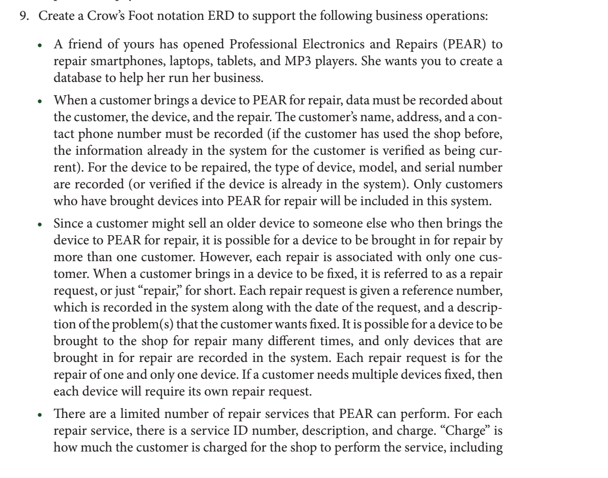 crow s foot erd I have an erd diagram where i have the crows foot on the customer going into a dotted line then straight line to membership does this mean that members must be customers and customers may hold a.