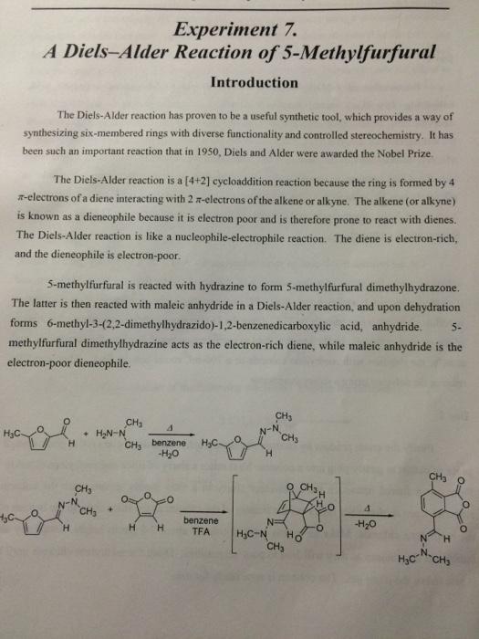 diels alder reaction experiment