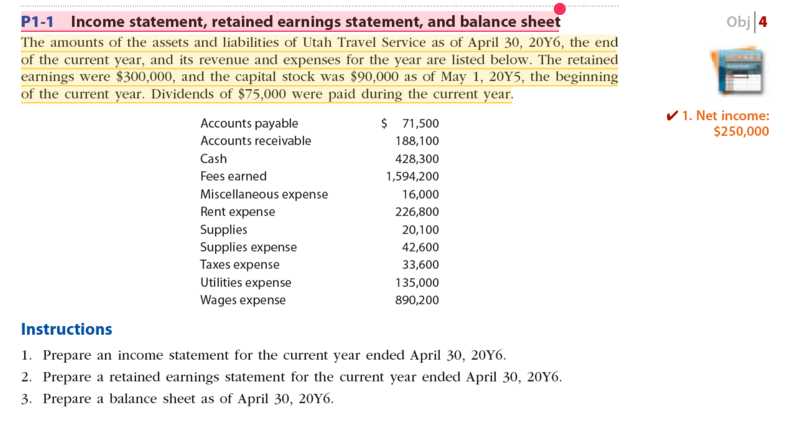 retained earnings on balance sheet