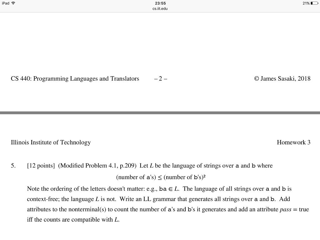 The programming language c (s)