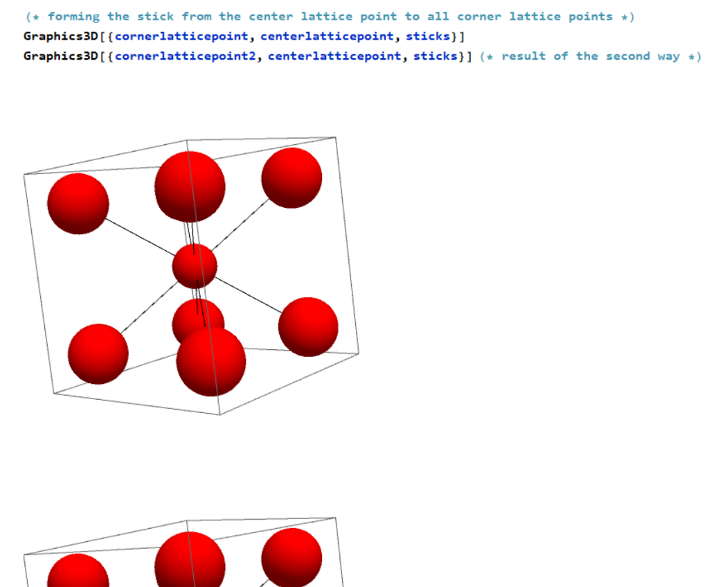 Use MATHEMATICA To Design A Crystal Structure  Her