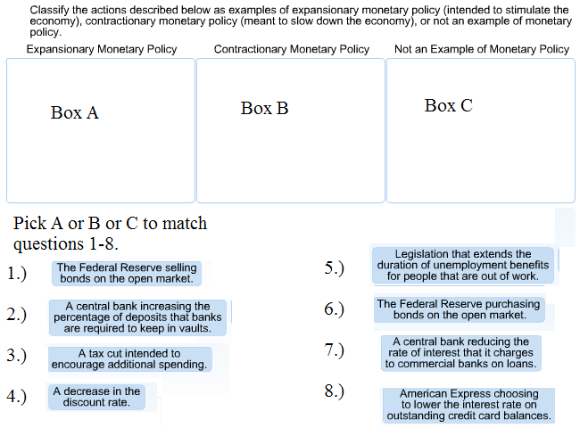 Solved Classify The Actions Described Below As Examples O