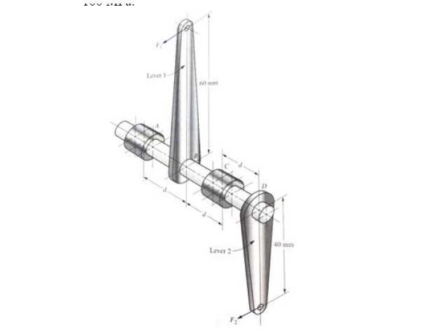 problem 1 the design of the shaft for linkage of a