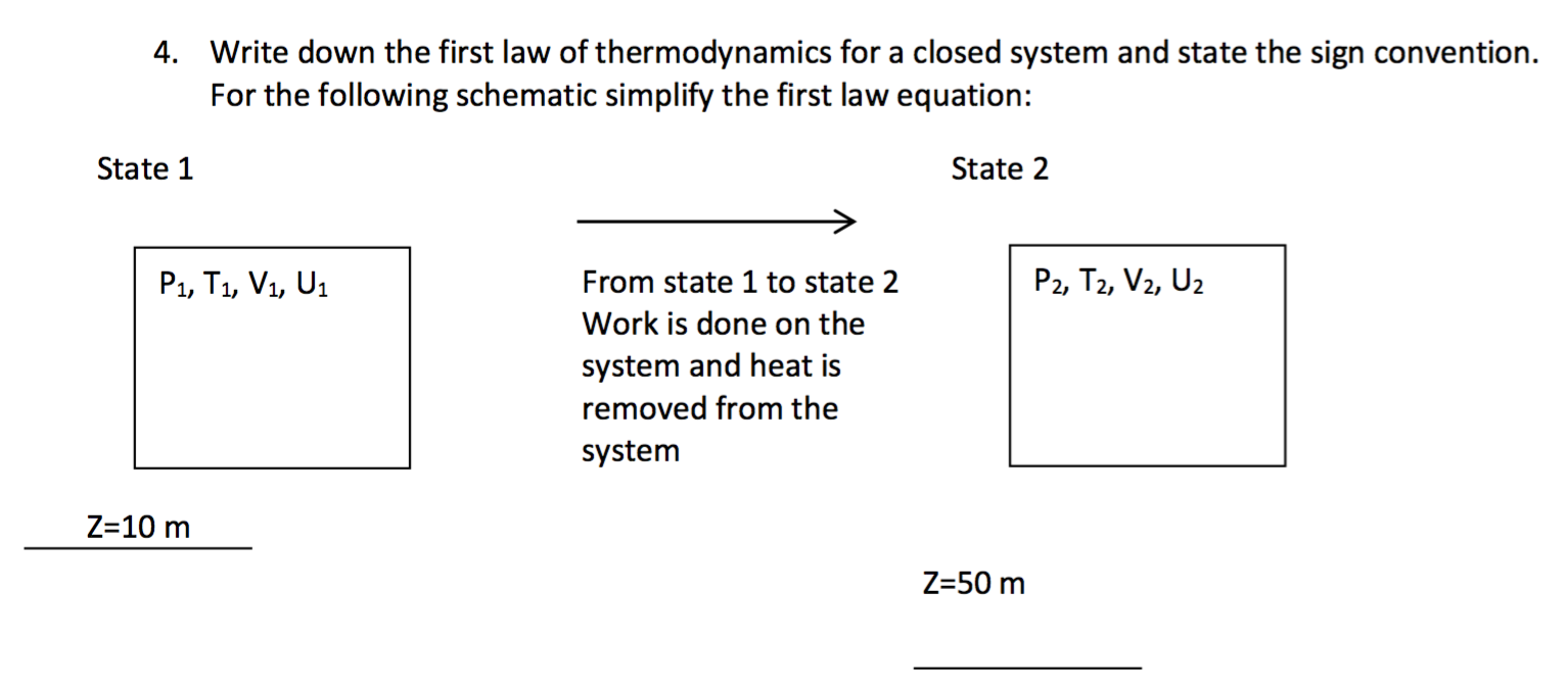 The first law of thermodynamics for the average person 90