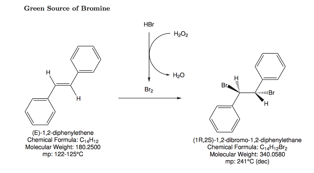 Solved How Does The Mechanism For Bromination Of E St