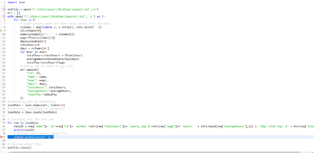 Solved: In An Attempt To Change Code, In PYTHON, That Conv