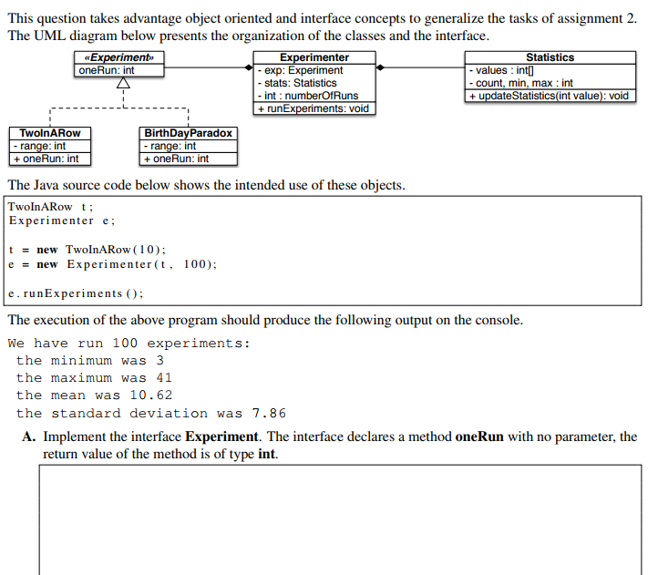 Computer science archive march 04 2018 chegg this question takes advantage object oriented and interface concepts to generalize the tasks of assignment 2 ccuart Image collections