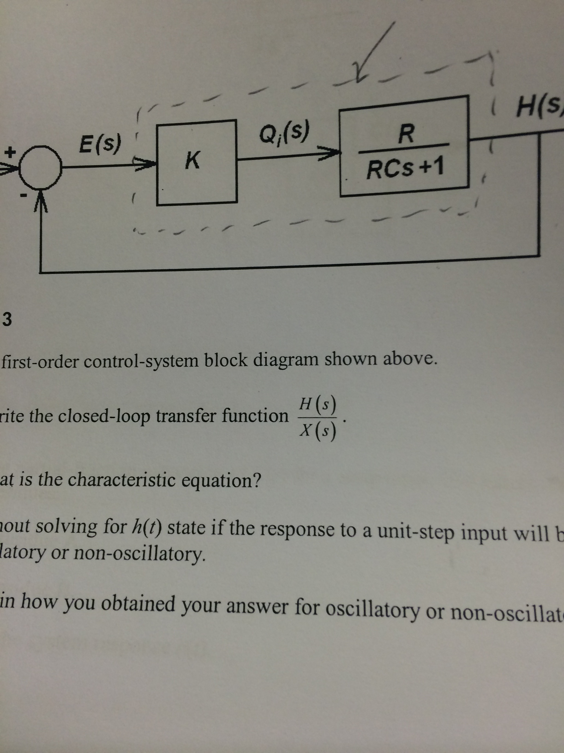Block Diagram Solver Wiring Library Lance C Er Harness A First Order Control System Shown