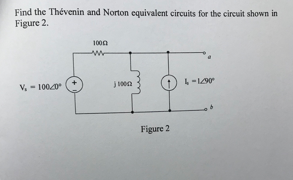 Draw A Circuit Diagram Of The Circuit Shown In The Picture: Solved: Find The Thévenin And Norton Equivalent Circuits F rh:chegg.com,Design