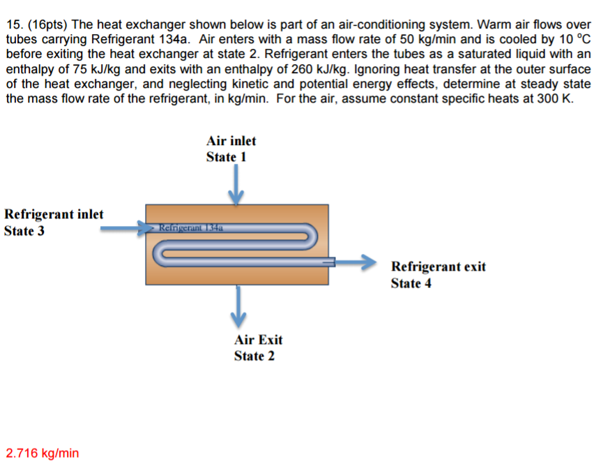 heat engine and mass flow rate States that the rate of entropy change within the control volume during a process is equal to the sum of the rate of entropy transfer through the control volume boundary by heat.