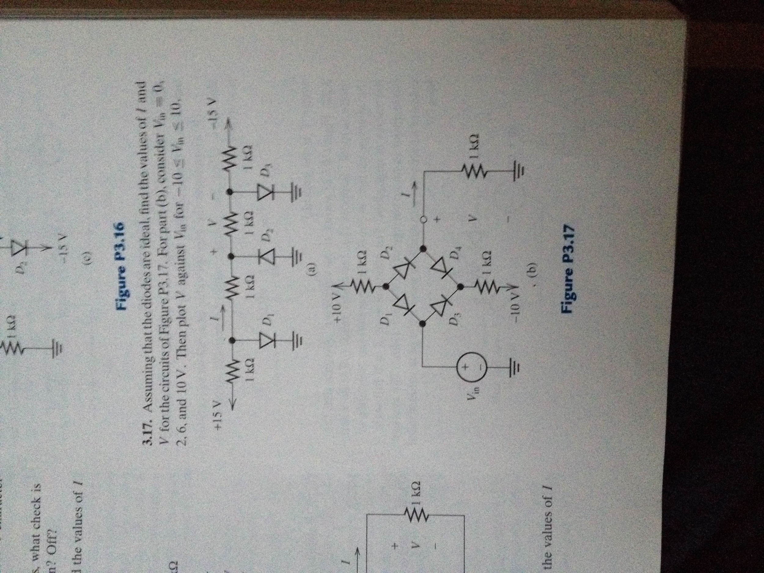 Solved Assuming That The Diodes Are Ideal Find Value Circuit Above Contains 5 Resistors R1 R2 Cheggcom Val