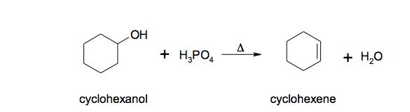 cyclohexene to cyclohexanol