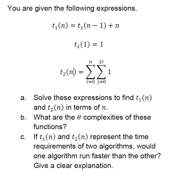 21 5 given the following expressions what value would they have in a c program 80 chapter 4 functions, expressions, and equations evaluating functions if f(x) is given by an algebraic expression in x, then finding the value of f(5), for instance, is the.