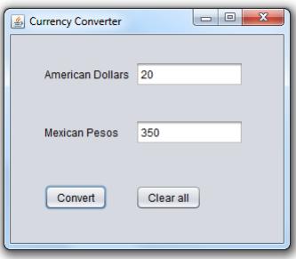 Solved: JAVA PROGRAM Create A Simple Java Application, Wit