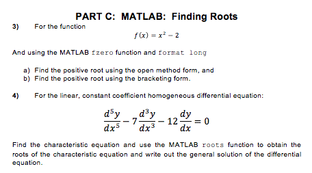 Solved: For The Function F (x) = X^2 - 2 And Using The MAT