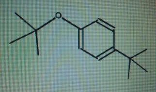 Solved A Tert Butyl 4 Tert Butylphenyl Ether Bpara Tert