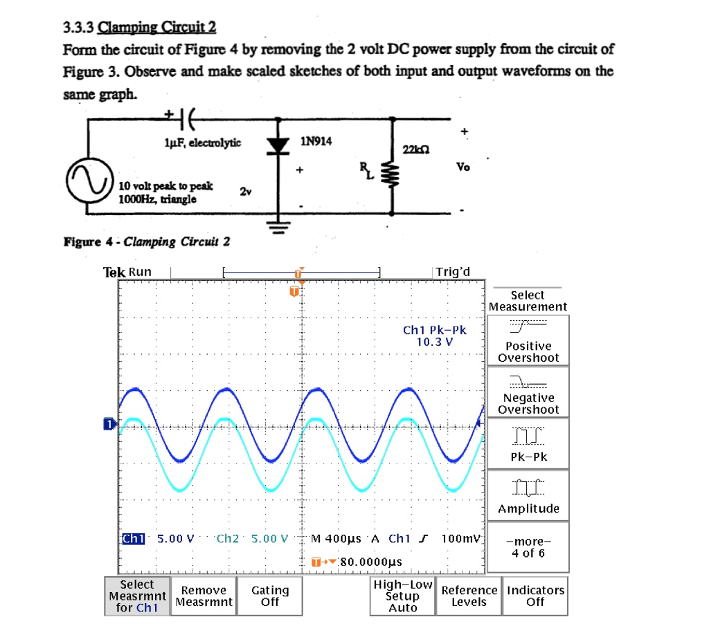 Solved: I Did The Circuit In The Lab In School And I Got T