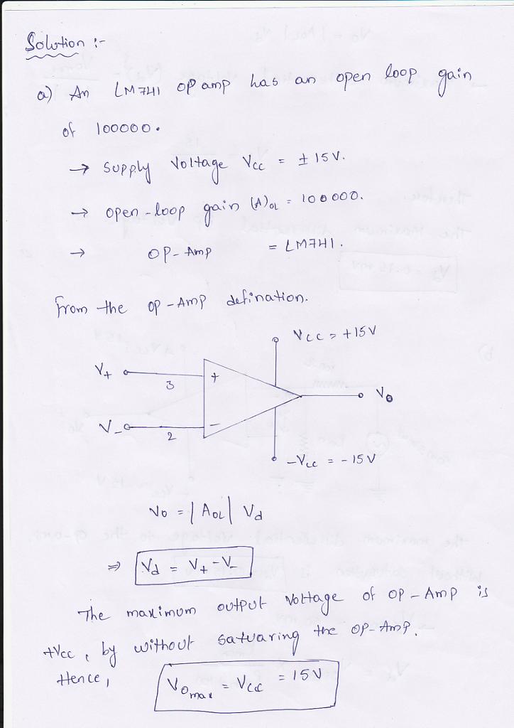741 Op Amp Wiring Diagram