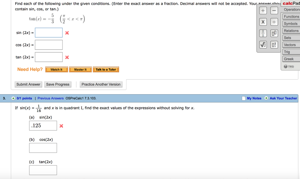 Solved Find Each Of The Following Under The Given Conditi Chegg Com