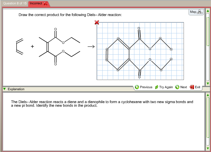lab 4 results diels alder reaction Microwave-assisted organic synthesis of a diels-alder reaction  the purpose  of this experiment is to perform a microwave assisted diels-alder reaction of 2   maleimide, c4h3no2, 9707, 92-94, h2o, corrosive, lachrymator  have  happened, which would result in a high percentage of desired product.