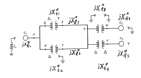 Solved Draw The Zero Sequence Network For The One Line Di