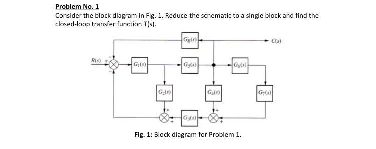 Electrical engineering archive september 16 2015 chegg 1 consider the block diagram in fig 1 reduce ccuart Gallery
