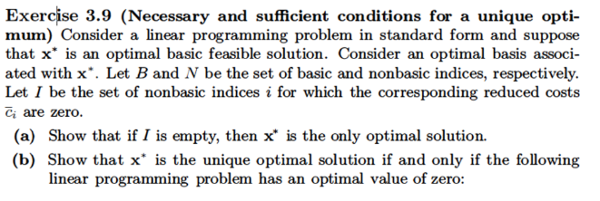 Consider a linear programming problem in standard chegg consider a linear programming problem in standard falaconquin