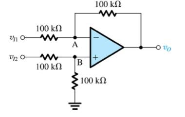 100 kΩ 100 kΩ Un 100 kΩ