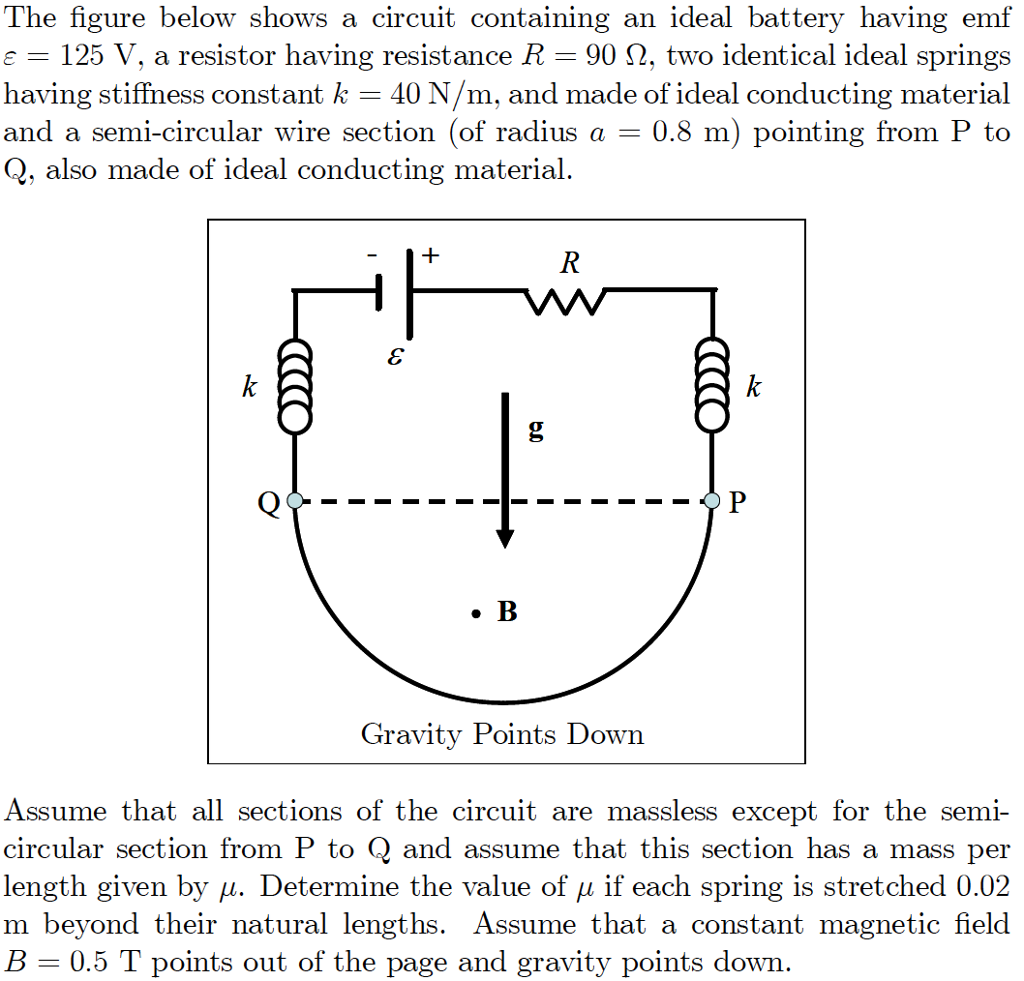 Question: The figure below shows a circuit containing an ideal battery  having emf E 125 V. a resistor havin.