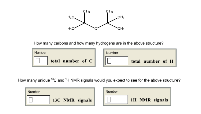 e84ab2249 CH3 CH3 H3C CH3 H3C CH How many carbons and how many hydrogens are in the