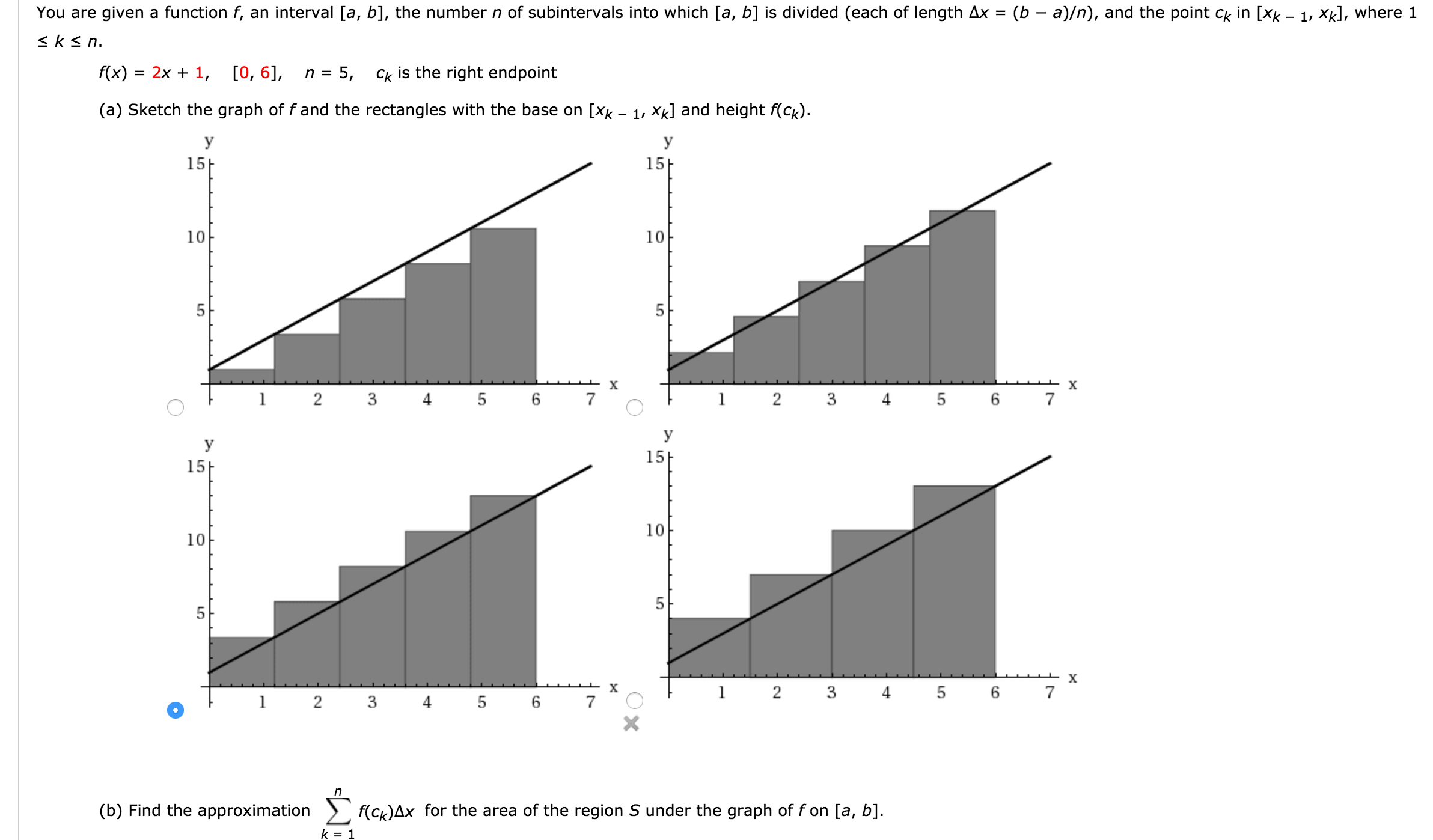 You Are Given A Function F, An Interval [a, B], Th