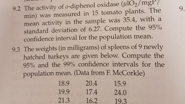Statistics and probability archive february 14 2018 chegg 92 the activity of o diphenol oxidase ulo2mgp 9 min altavistaventures Choice Image
