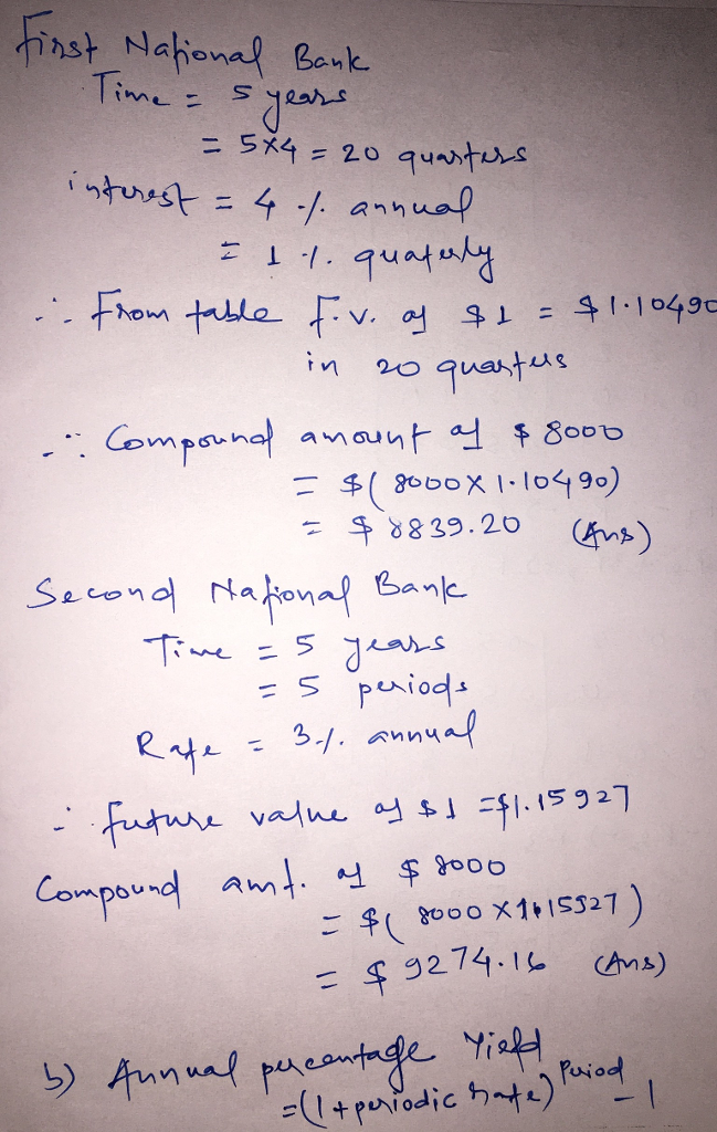 Solved 1lve The Following Word Problem By Using Table