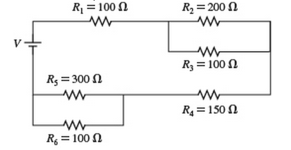solved what is the equivalent resistance of the circuit s rh chegg com