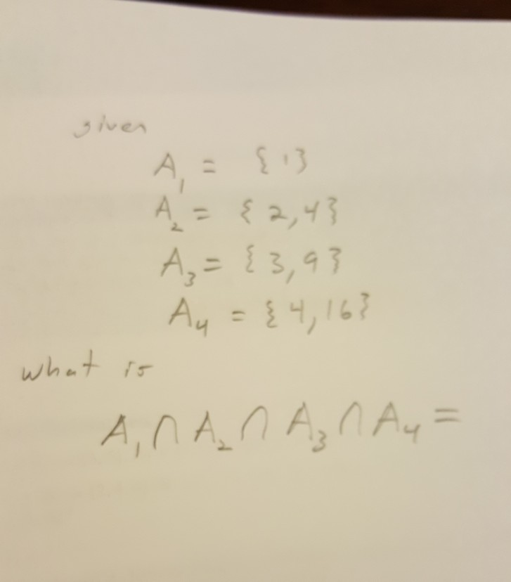 Solved: Discrete Mathematics Question Also, Since 4 Is In