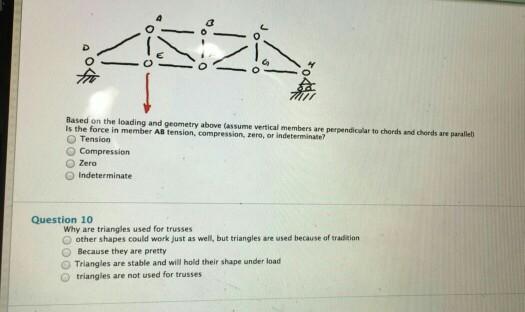 Solved O O O O O Based On The Loading And Geometry Above