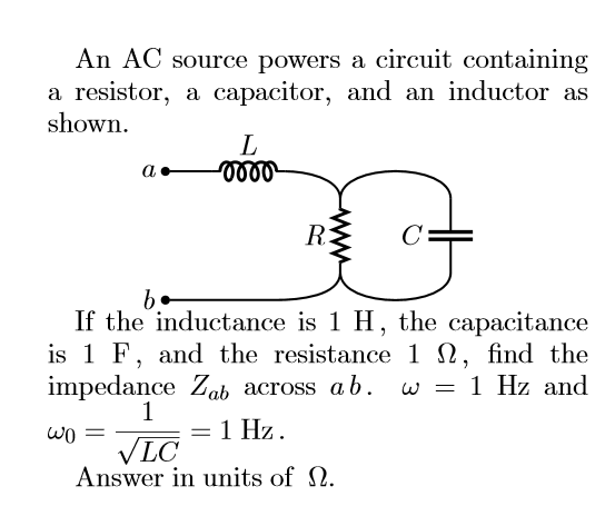 solved an ac source powers a circuit containing a resisto rc series circuit ac source powers a circuit containing