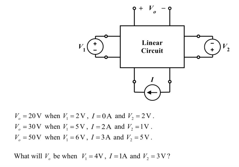 solved circuit k 20 v when k 2 v 1 0 a and v 2v rh chegg com