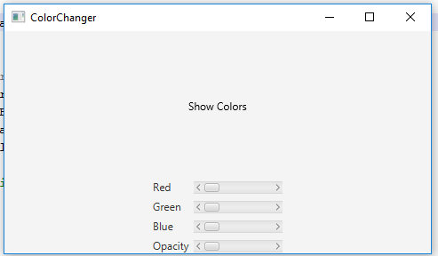 Solved: Write A Java Program Named ColorChanger That Uses