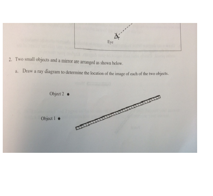 Solved Plane Mirrors Physics Tutorial Help Please Ans