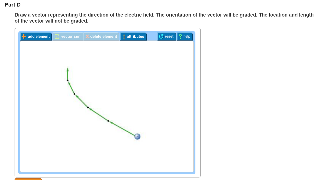 Solved electric field vector drawing each of the four par velocity of a charged particle at equal time intervals as it moves through a region of uniform electric field for each part draw a vector representing ccuart Gallery