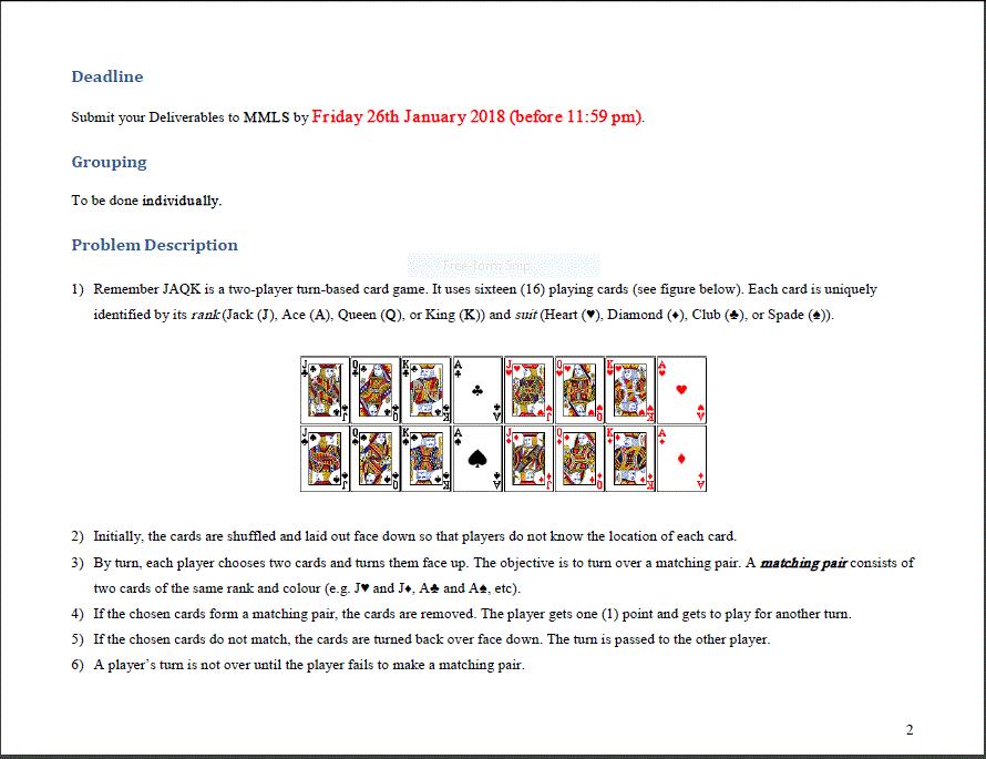 c++ card game